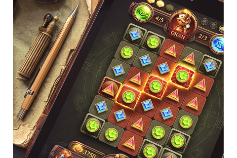 iOs Game / Match-3 by Mike | Creative Mints | Dribbble ...
