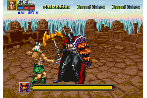 Golden Axe II: The Revenge of Death Adder (1992) by Sega ...