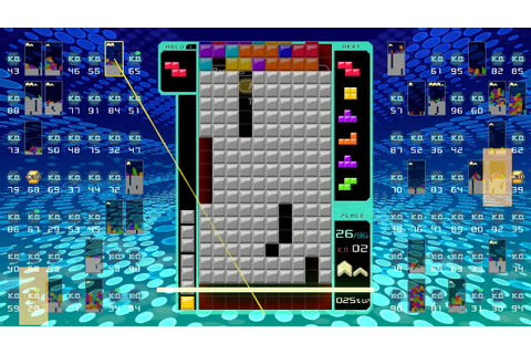 Review: Tetris 99 - A Revolutionary Take On A Puzzle ...