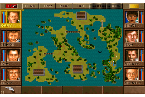 Jagged Alliance: Deadly Games strategy for DOS (1996 ...