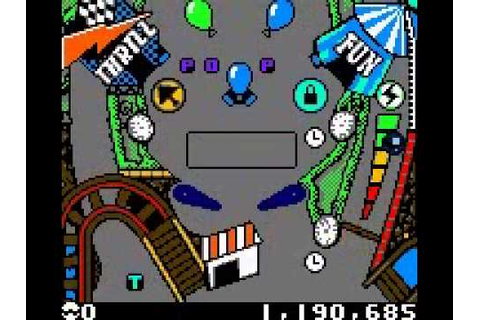 3-D ultra pinball - thrillride for GameBoy Color - YouTube