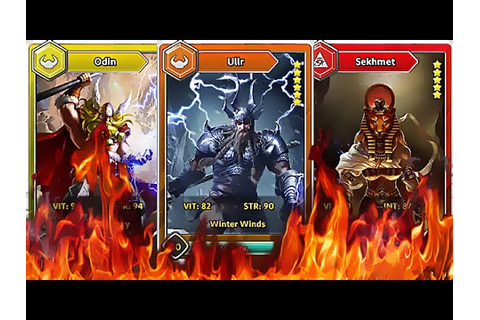 Dawn OF Gods - Only Battles - Android Game Play - 2016 ...