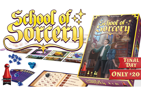 School of Sorcery by Dr. Finn's Games — Kickstarter