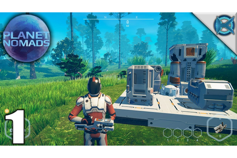Planet Nomads | Scifi Survival Building Game | Let's Play ...