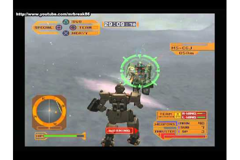 [PS2] Mobile Suit Gundam Lost War Chronicles EFSF ...