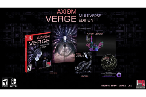 Axiom Verge Launches on Switch on 17th October - Nintendo Life