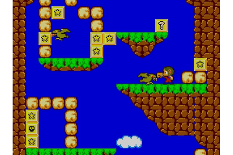 PSN/XBLA Review: Alex Kidd in Miracle World | RotoRob GAMING