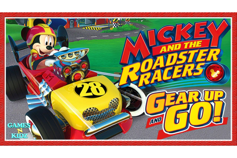 Mickey And The Roadster Racers: Gear Up And Go Racing Game ...
