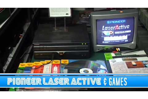 Pioneer LaserActive & Games - YouTube