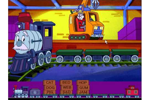 Reader Rabbit's Reading 1: Word Train Game, Level 4 - YouTube
