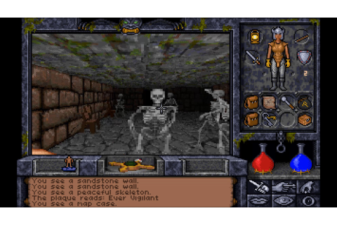 BACKLOG.TXT: Revisiting Ultima Underworld II - Labyrinth ...