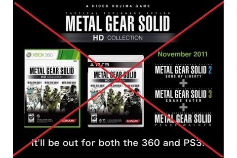 Metal Gear Solid Legacy Collection? - YouTube