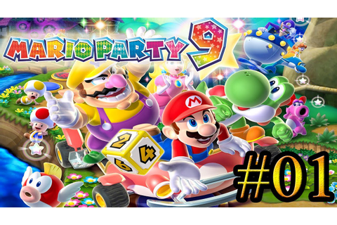 Let's Play: Mario Party 9 - Parte 1 - YouTube