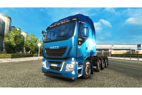 Iveco Stralis 560 Hi-Way 8X4 v1.0 for Euro Truck Simulator 2