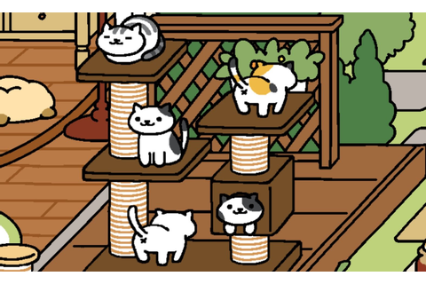 Neko Atsume was my bridge to a better life - Polygon