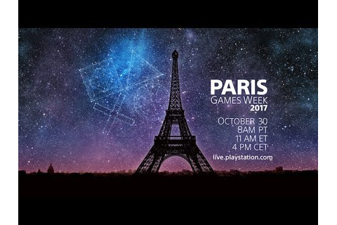 PlayStation® Live from Paris Games Week 2017 | Japanese ...