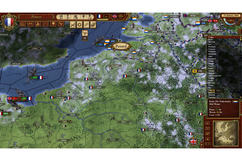 Test de March of the Eagles sur HistoriaGames