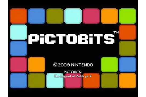 PiCTOBiTS 13 The Legend of Zelda pt 2 - YouTube