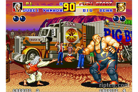 Neo Geo Games Coming to PlayStation Network