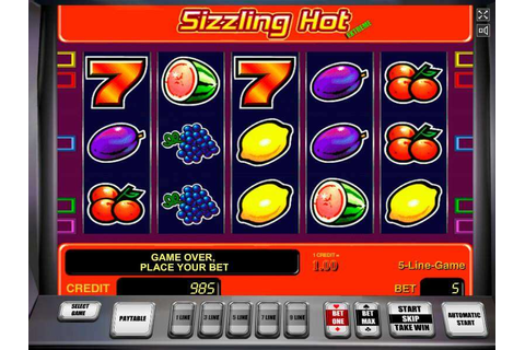 Sizzling Hot Slot Machine - Play FREE Online with NO Download