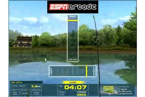 Bass Fishing Challenge Game - Online Fishing Games - YouTube