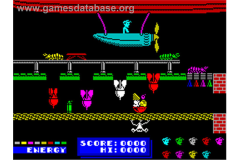 Dynamite Dan II - Sinclair ZX Spectrum - Games Database