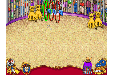 Скриншоты Where's Waldo? At the Circus на Old-Games.RU