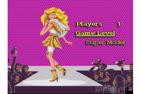 Barbie Super Model Download on Games4Win