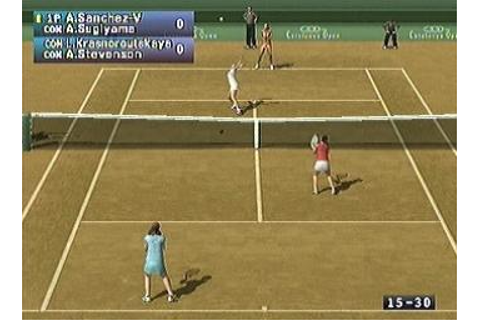 Screens: Pro Tennis WTA Tour - PS2 (4 of 26)