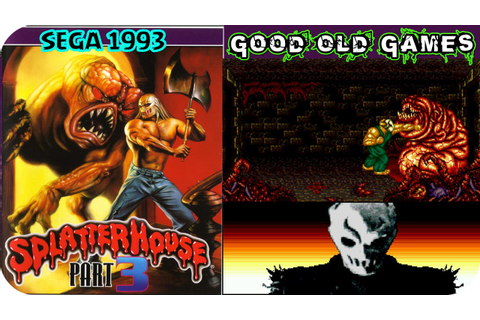 Splatterhouse 3 Gameplay SEGA 1993 HD - YouTube