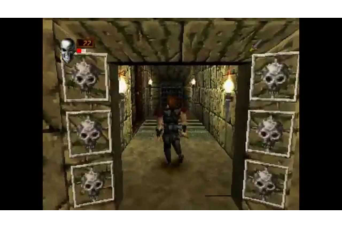 Deathtrap Dungeon ... (PS1) - YouTube