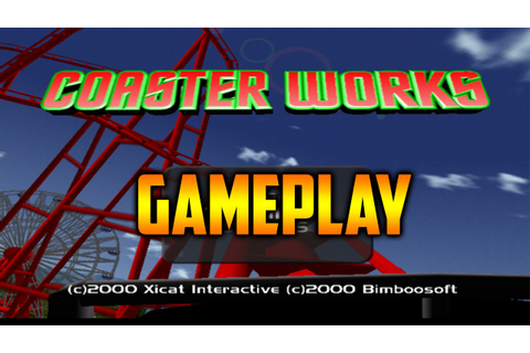 Coaster Works|Dreamcast Gameplay Full HD (1080p) - YouTube