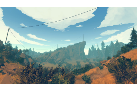 Firewatch Review Campo Santo Games | Reviews | The Escapist