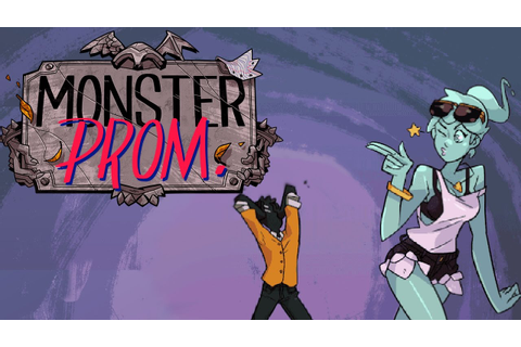 Monster Prom - Undead Dating Sim (4 Player Demo Gameplay ...