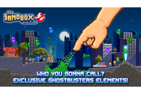 NEW UPDATE - GHOSTBUSTERS E... - The Sandbox Evolution
