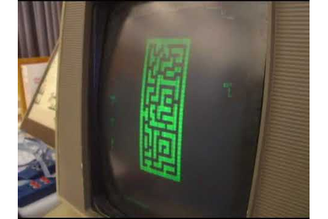 Maze War (1973) - First 3D first-person shooter - YouTube