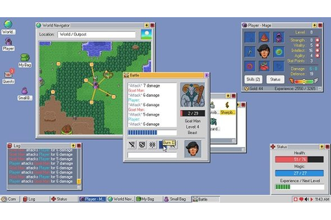 RPG management sim Kingsway is the offspring of Windows 98 ...