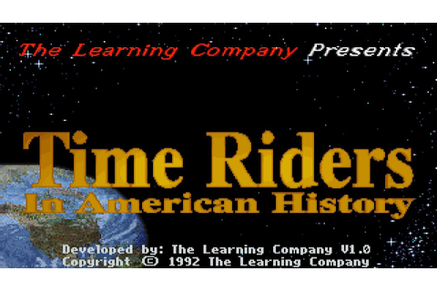 Dos Madness | Time Riders In American History (1992) - YouTube