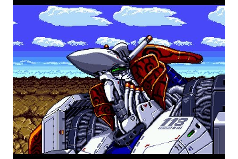 Musha Aleste: Full Metal Fighter Ellinor - Mega Drive ...
