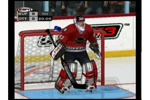 NHL 2K3 (GameCube) Sabres vs Senators - YouTube