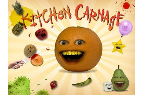 Annoying Orange Kitchen Carnage - iPhone Game Preview ...