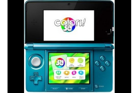 Colors!3D For The Nintendo 3DS In Depth App Review by an ...