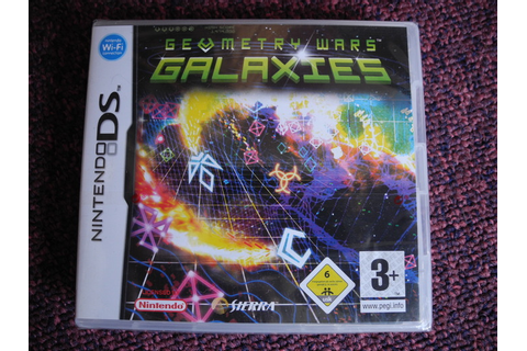 Nintendo DS games x2 - Geometry Wars Galaxies + Picross DS ...