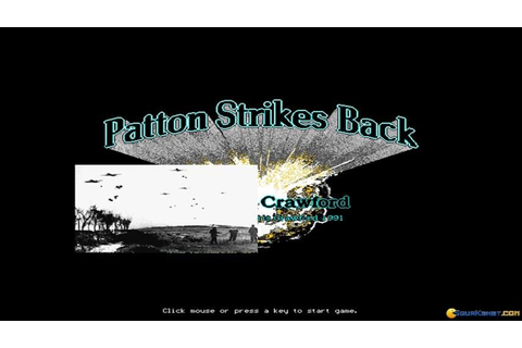 Patton Strikes Back gameplay (PC Game, 1991) - YouTube