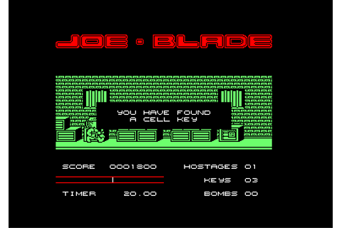 Download Joe Blade - My Abandonware