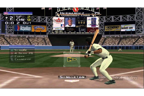 Dolphin Emulator 4.0.2 | All-Star Baseball 2002 [1080p HD ...