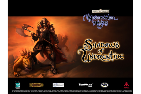 Neverwinter Nights: Shadows of Undrentide Video game ...