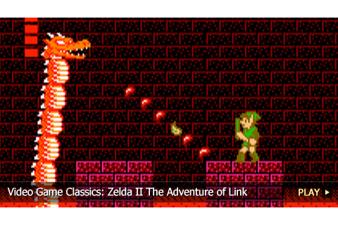 The Legend of Zelda II: The Adventure of Link on Pinterest ...