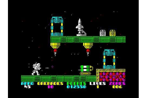 Exolon (ZX-Spectrum Game) - YouTube