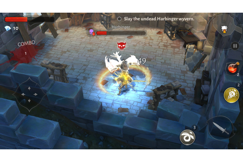 Dungeon Hunter 5 – Action RPG for Amazon Kindle Fire HDX 7 ...